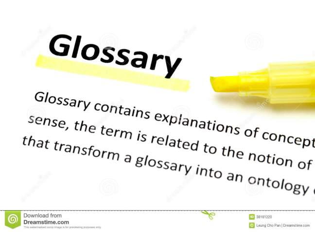 glossary-meaning-yellow-highlighter-38181220